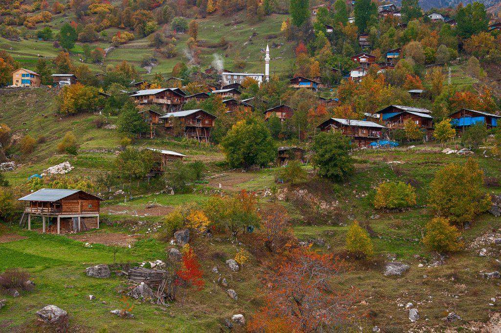 مناطق في تركيا